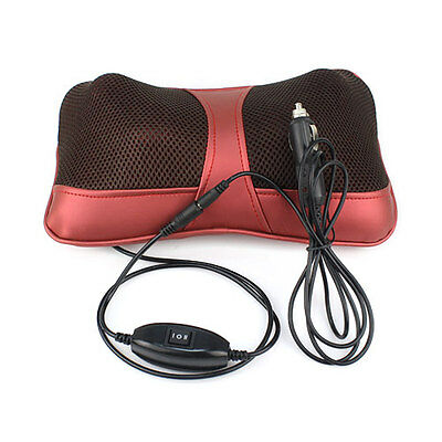 New Multi-function Massager Pillow Car Home Dual-use for Neck Wrist Kneading Hot