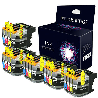 20 XL Chipped Ink Cartridge for Brother LC125XL LC127XL DCP J4110DW MFC J4410DW