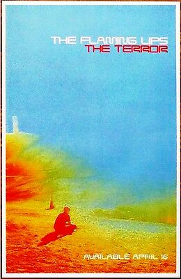 THE FLAMING LIPS The Terror Ltd Ed Discontinued RARE Poster +FREE Indie Poster!