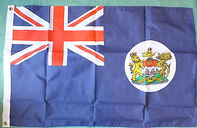 Old Hong Kong Flag 2x3 British Colonial Empire 20th Century Union Jack History