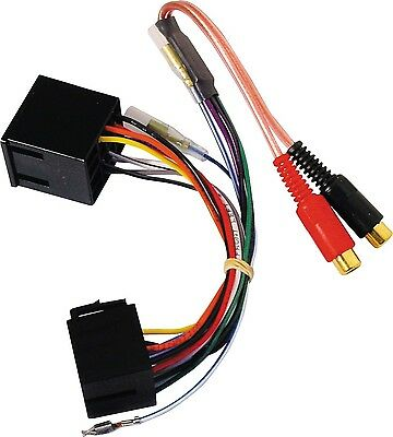 Autoleads PC9-450 2 Channel ISO to RCA Line Output Converter For Car Amplifers