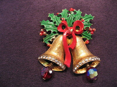 Weiss christmas bell's pin,N35