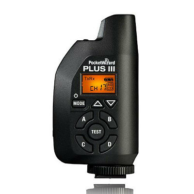 PocketWizard Plus III Transceiver PW-PLUS3-FCC 801-130
