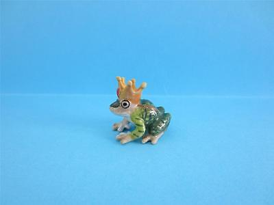 """♥ NEW SPRING 2013, LITTLE CRITTERZ """"KISS"""" FROG PRINCE FIGURINE SO CUTE *MINT*"""