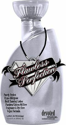 Devoted Creations Flawless Perfection Dark Tanning Lotion Oil Free Formula 400ml