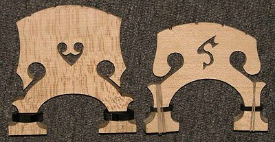 Replacement Bridge For Palatino Eub-Electric Upright Bass Adjusters Quality Wood