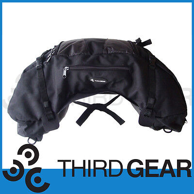 Front or Rear Non Metallic Luggage Seat Tail Pack Bag for Motorcycle Dirt Bike