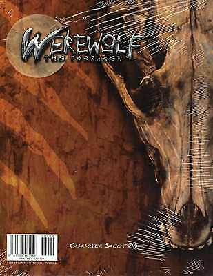 Werewolf-The Forsaken-Charater Sheet Pad-Charakterbogen-Rollenspiel-RPG-New-Neu