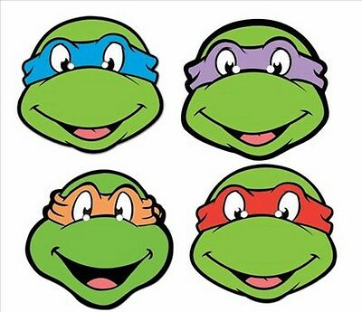 raphael ninja turtle face coloring page