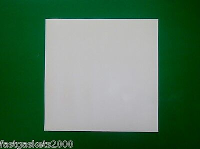 Silicone Rubber Sheet, White 1.5Mm, 2Mm, 3Mm - Various Sizes