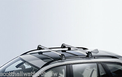 BMW Genuine  Roof Bars Locable 1 & 3 E87 E90  Series PN 82710403104 UK NEW
