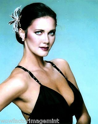 BUSTY and HOT! Lynda Carter ( of Wonder Woman tv show ) - 8 x 10 photo