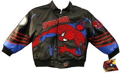 (New) Kid's Authentic Jh Design Spider Man Jackets