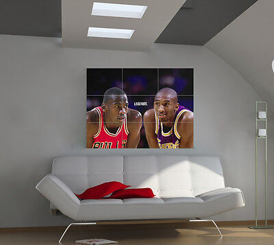 "Michael Jordan Huge Art Giant Poster Wall Print 39""x57"" px37"