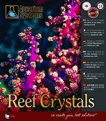 Aquarium Systems Reef Crystal Sel Enrichi Pour Aquarium 380 G Preparation 10 L
