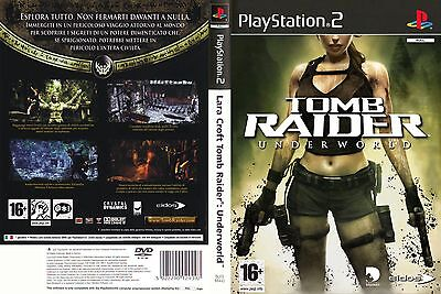 Tomb Raider Underworld PS2 GAME PAL *VGWC!* + Warranty!