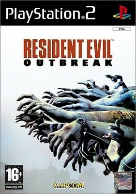 Resident Evil Outbreak PS2 GAME PAL *VGWC!* + Warranty!