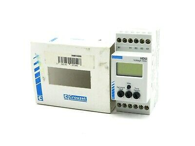 New Crouzet 84-872-309  Voltage Control Relay Hdu-H  84872309