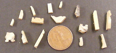1:12 Scale Dolls House Mouldings Skirting, Cornice Dado Picture Rail & Bannister
