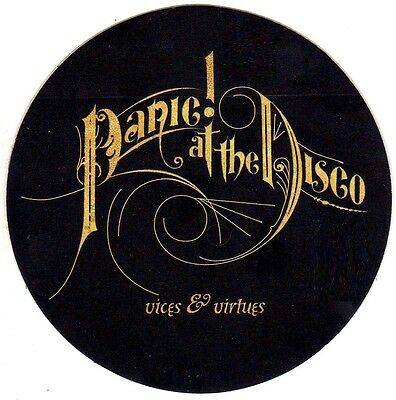 PANIC AT THE DISCO Vices & Virtues RARE New Stickers Lot +FREE Rock/Pop Stickers