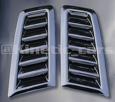 Focus RS MK2 style ABS plastic bonnet vents *FORD PROFILE* universal Exact OE