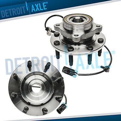 Both (2) New Front Wheel Bearing And Hub Assembly Set Chevy GMC 4x4 Truck's  ABS
