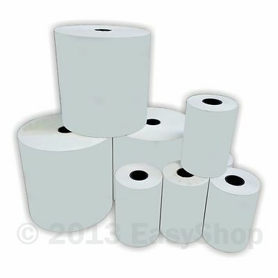 80 x 80mm Thermal Paper Till Rolls Epos Printer Receipt Machine Cash Register