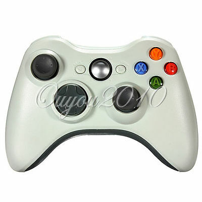 1Pc Wireless Shock Game Controller For Microsoft xBox 360 xBox360 white New HOT