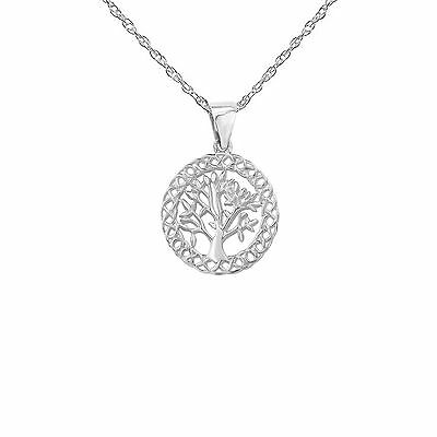 Celtic Stirling Silver Tree Of Life pendant 9388