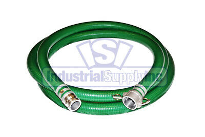 "2"" x 20' Trash Pump Water Suction Hose w/Camlock"