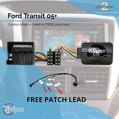 Ford Transit 05 on Steering Wheel Stalk Control Interface Lead CTSFO002.2