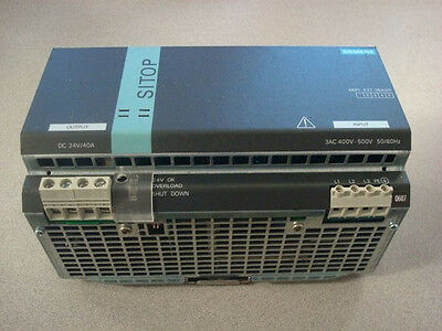 USED Siemens SITOP 6EP1437-3BA00 Power Supply 24VDC Power 40