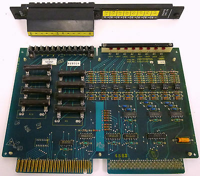 GE Fanuc IC600YB804A 115V AC-DC Input Module With IC600FP904K Faceplate