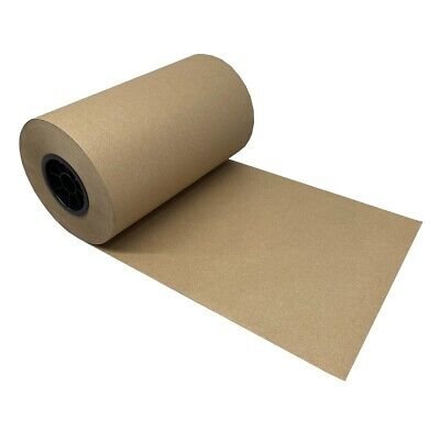 "Kraft Paper Roll 765'x12"" 40lb Strength Brown Shipping Wrapping Cushioning Wrap"