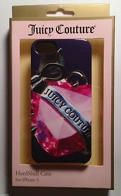Authentic Juicy Couture Banner Heart Hard Shell Case Cover  Apple iPhone 5S / 5