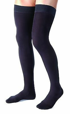 Jobst For Men Compression Thigh High Stockings 20-30 mmHg - Firm Compression