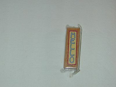 Mary Engelbreit ''hello'' Rubber Stamp -New-Sealed