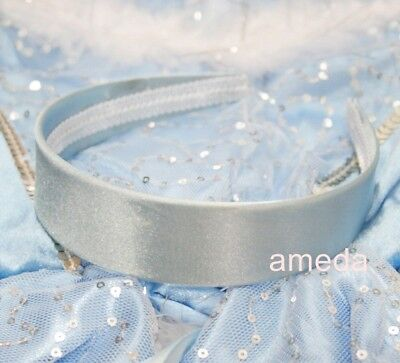 Halloween Cinderella Princess Blue Headband Costume