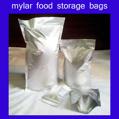 Quality mylar stand-up food storage bag pouch long-term collectibles protection