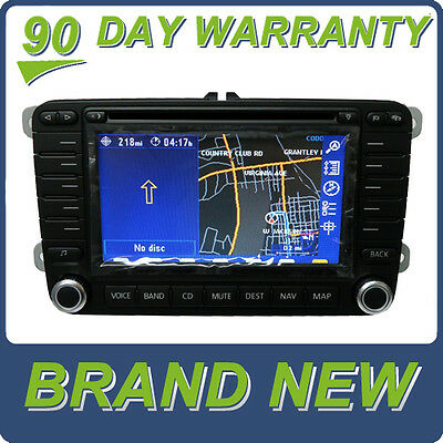 NEW VW VOLKSWAGEN Navigation GPS System LCD Touch Display Radio CD Player w/Ant