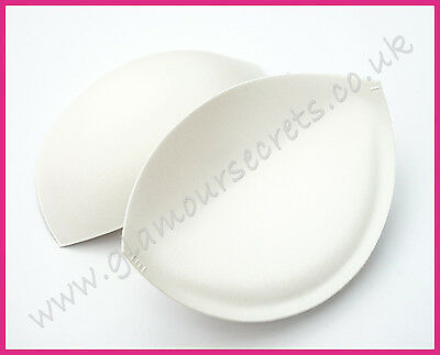 Sew in Bra Cups - IVORY - Various Sizes - PUSH UP - Bridal Gowns, Prom Dresses