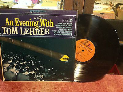 Tom Lehrer - An Evening Wasted With Tom Lehrer lp RS-6199 Stereo
