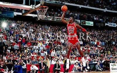 a5150be28cf1 Michael Jordan Free Throw Line Slam Dunk Contest 8x10 Photo Bulls  Basketball NBA