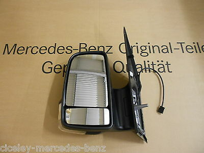 Mercedes Benz W906 Sprinter Complete Short Mirror Head Assembly LH or RH