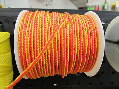 "Arborist 200Ft Of 1/8"" Solid Braided Throw Line - No Memory - Agptl18200"