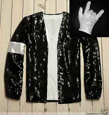 Michael Jackson Jacket & Glove Billie Jean Style