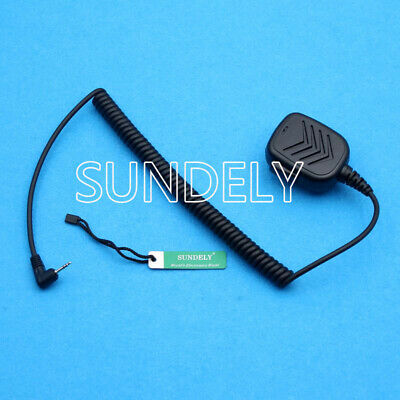 Microphone for Motorola Talkabout Radios Remote Speaker with 53724 Push-to-Talk
