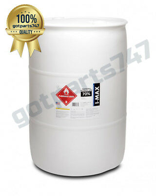 Isopropyl Alcohol - HIGH PURITY  IPA 70% (55 Gallon Drum) LOWEST PRICE ONLINE