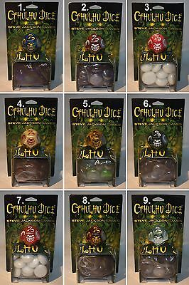 Cthulhu-Dice-Würfel-W12-Horror-Tabletop-Rollenspiel-RPG-OOP-New-Neu-very rare