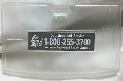 GameBoy Advance (GBA) Clear Battery Compartment Cover (Lid)